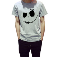Nightmare Before Christmas Jack Skellington face t-shirt