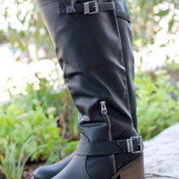 Calling of Harvest Boot - Black
