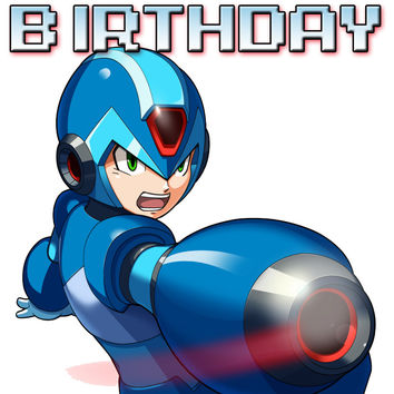 Personalized Video Game Megaman Birthday Shirt T-shirt Great Gifts