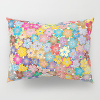 Cherry Blossom Flowers Pillow Sham by Smyrna