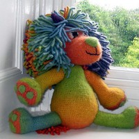 Marlion large amigurumi PDF Felted Crochet Pattern by FionaKelly