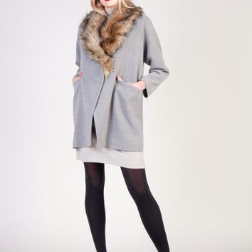 2a67f4952119c Best Fur Trench Coat Products on Wanelo