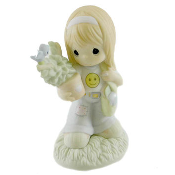 Precious Moments From Small Beginnings Come Great Things Figurine