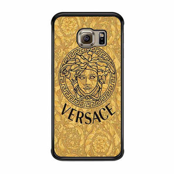 versace gold logo triforce samsung galaxy s6 s6 edge s3 s4 s5 cases