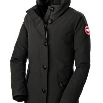 Canada goose Winter fashion to keep warm WOMEN Long hooded down jacket