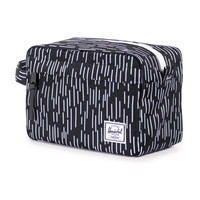 Herschel Supply Co.: Chapter Travel Kit - Black / White Rain Camo