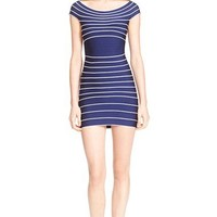 Herve Leger 'Archive Collection' Off the Shoulder Bandage Dress | Nordstrom