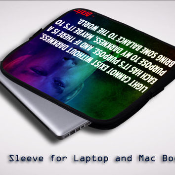 Dexter Morgan Quotes X1637 Sleeve for Laptop, Macbook Pro, Macbook Air (Twin Sides)
