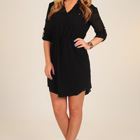 Be All Mine Dress: Black