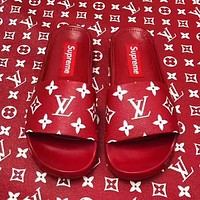 Louis Vuitton x Supreme Sandal Slipper Shoes