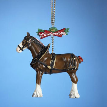 Budweiser Christmas Ornament - Officially Licensed