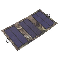 4W 5V 0.58A Tactical Solar for Camping Hiking Travel