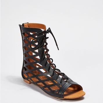 Cutout Gladiator Sandal by Qupid®