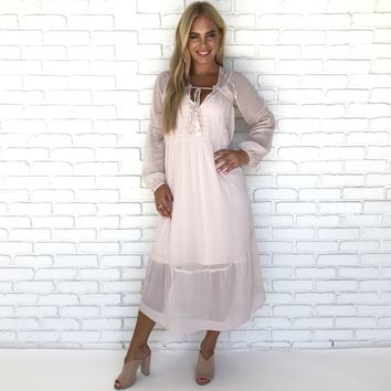 Butterfly Feeling Maxi Dress