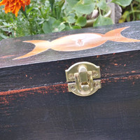 Samhain Dark Mother Moon Goddess box: pagan, wicca, witchcraft