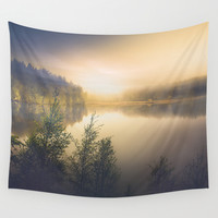 The perfect organism Wall Tapestry by HappyMelvin