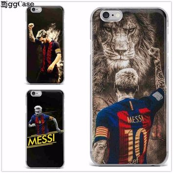Football star Messi Ronaldo Neymar soft silicone phone case cover for iphone 6 6S 7 8 plus 5S SE X soccer Phone case coque shell