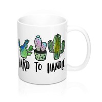Cactus Hard To Handle Ceramic Mug