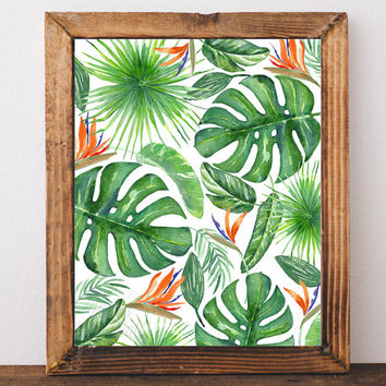 Shop Palm Leaf Decorations on Wanelo