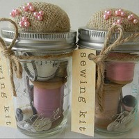 Craft Ideas / Sewing kit...the perfect gift.