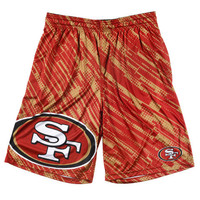 San Francisco 49ers Official NFL Reprint Shorts