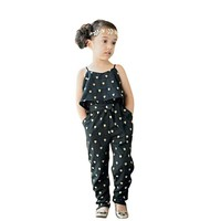 children's Clothing Girls Jumpsuit Girls Use A heart-shaped Piece Of Summer Kids Overalls