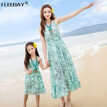 Mom And Daughter Dress Matching Mother Daughter Dresses Clothes Family Fitted Mae E Filha Roupa Mae E Filha Vestidos Family Look