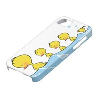 Swimming duck family iPhone 5 cases from Zazzle.com
