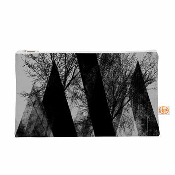 "Pia Schneider ""TREES V2"" Black White Gray Everything Bag"