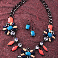 Contrast Pop Necklace