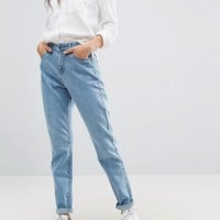Noisy May Donna Mom Jeans at asos.com