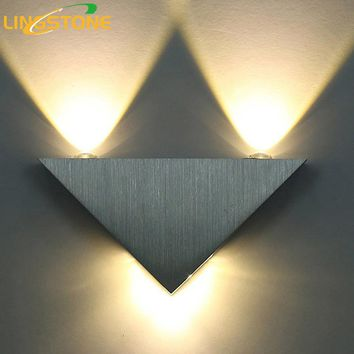 Modern Led Wall Sconce- 3Watts Aluminum Body