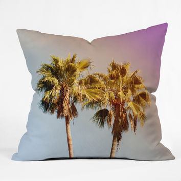 Catherine McDonald Pot of Golden State Throw Pillow