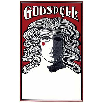 Godspell 27x40 Broadway Show Poster