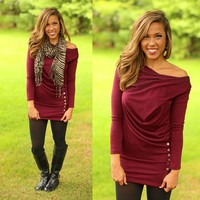 Cowl Central Tunic