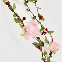 Donna Floral Headband - Rose - One