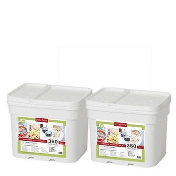 720 Serving Freeze Dried Foods Survival Emergency Storage Bucket- Lindon Farms