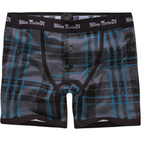 Blue Crown Broken Arrow Boxer Briefs Grey  In Sizes