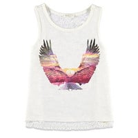 Eagle Graphic Lace Tank (Kids)