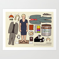 "Leslie Knope, ""Parks and Recreation"" Art Print by Kyle Hilton"