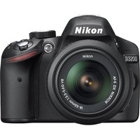 Nikon - D3200 24.2-Megapixel Digital SLR Camera with 18-55mm Zoom Lens - Black