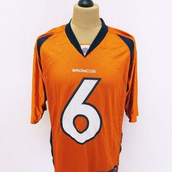 ONETOW Denver Broncos NFL American Football Kit Top Jersey T-Shirt Medium Outsized