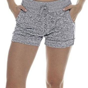 Women's Activewear Lounge Two front pockets Shorts 90 Degree By Reflex Women's Shorts