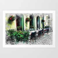 Cracow art 10 Kazimierz #cracow #krakow #city Art Print by jbjart