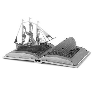 Fascinations Metal Earth Moby Dick Book Sculpture 3D Metal Model Kit (MMS116)