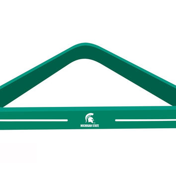 Michigan State University Billiard Ball Triangle Rack