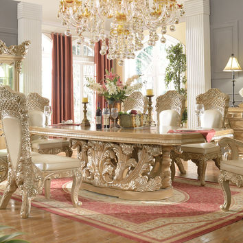 Homey Design Royal Kingdom HD-7012 Dining Set Collection