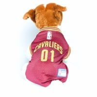 Cleveland Cavaliers Dog Jersey NBA Basketball Officially Licensed Pet Product