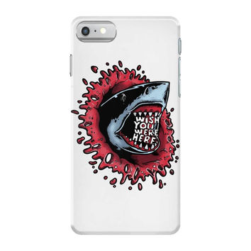 shark attack iPhone 7 Shell Case