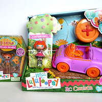 NEW Mini Lalaloopsy RC Cruiser Bea Spells-a-lot Silly FUNHOUSE Ace Fender Bender